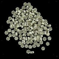 20/50/100pcs Wholesale Vintage Charms Spacer Loose Beads Buddha Angel Wing Heart