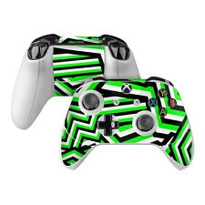 NEW Vinyl Skin for Xbox One Controller S Elite Green Stripes Sticker Decal