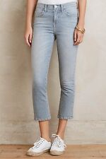 NWT CURRENT/ELLIOTT THE KICK DISTRESSED CROPPED BOOTCUT JEANS 26