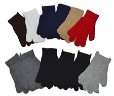 Winter Knit Gloves Magic Gloves Wholesale 12 Pairs- One Size Fits All - New York