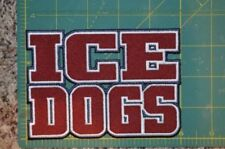 """CHOICE: Fairbanks Ice Dogs Throwback NAHL 5"""" Hockey Jersey Shoulder Patch Crest"""