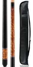 BURL LUCKY MCDERMOTT L18 Two-piece Billiard Pool Cue Stick & FREE 1x1 Soft Case