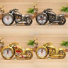Fashion Battery Operated Analog Quartz Alarm Clock Motorcycle Model Desk Clocks