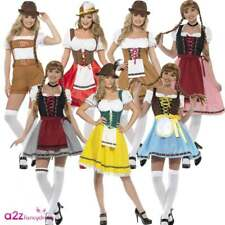 Bavarian Wench Beer Maid Sexy Adult Ladies Women Oktoberfest Fancy Dress Costume