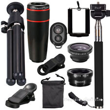 10in1 Phone Camera Lens kit Optical Telephoto 12X Zoom for Universal Smartphone