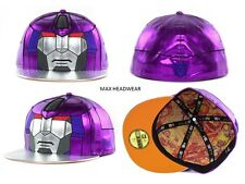 Transformers Decepticon Galvatron Character Face New Era 59Fifty Fitted Hat Cap