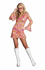 Dreamgirl Go Go Gorgeous 70s Groovy Retro Adult Womens Halloween Costume 8158