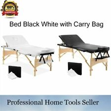 UP TO 250KG TABLE HEIGHTS PORTABLE MASSAGE TABLE BEAUTY THERAPY BED CHAIR WAXING