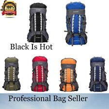 NEW 80L Large Internal Frame Backpack Camping Hiking Outdoor Sports Travel Bags