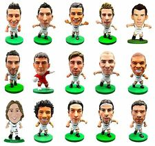 OFFICIAL FOOTBALL CLUB - REAL MADRID F.C. SoccerStarz Figures New Players)
