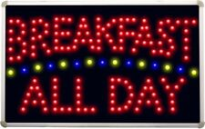 led139 Breakfast All Day Led Neon Sign