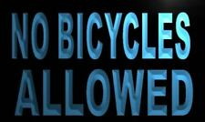 m816-b No Bicycles Allowed Neon Light Sign