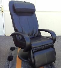 Black Human Touch HT-5040 WholeBody Massage Chair Stretching Recliner