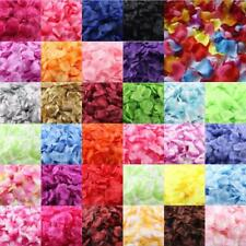 1000pcs Multicolor Silk Rose Artificial Petals Wedding Party Flower Favors Decor