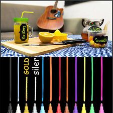 Multi-Color Chalk Markers & Metallic Colors-Pack of 12 chalk pen-For Chalkboard