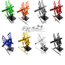 Adjustable Footrests Rearset Foot Pegs For Triumph Speed Triple 509 595 955 1050