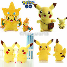 Pikachu Pokemon Plush Stuffed Animal Toy Cuddly Figure Soft Doll Xmas Kids Gifts