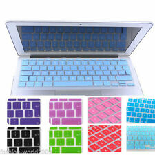 Si Keyboard Skin Cover  For Macbook 11,12,13,15,17 Inch Air Pro Retina EU Nice