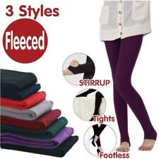 Women's Winter Warm Tights Stretch Thick Footless Stirrup Pants Pantyhose W3E7