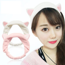 Soft Cat Ears Hairband Head Band Gift Headdress Hair Accessories Makeup Tools US