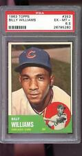 1963 Topps #353 Billy Williams Chicago Cubs EX-MT+ PSA 6.5 Graded Baseball Card