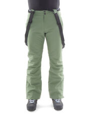 Brunotti Ski Pants Winter Trousers Snow Trousers Green Footstrap Slim Fit 10K