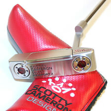 CUSTOM 2016 Scotty Cameron Putter Select NEWPORT2 Black & Red Edition