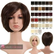 LADIES NEW SHORT STRAIGHT SYNTHETIC HAIR HIGH QUALITY NATURAL LOOK WIG LUCY
