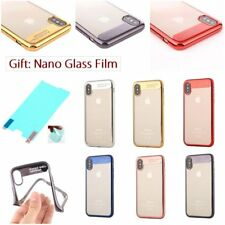 ELECTROPLATING LUXURY Slim Thin TPU SOFT RUGGED Back Case Cover For Apple iPhone