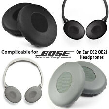 Replacement Earpad On Ear Pad Cushions Cover for Bose OE2 OE2i Headphones Black