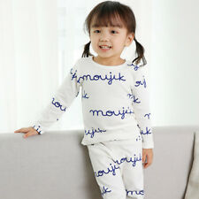 "Long Clothes Vaenait Girls ""G40 Style"" Toddler Kids Pajama Set Baby 12M-7T"