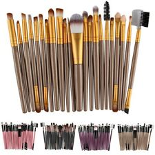 22Pcs/Set Cosmetic Eye Makeup Brush Tool Cheek Make-up Toiletry Kit Wool Make Up