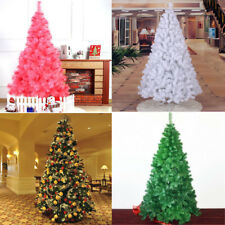 1.5/1.8/2.1m Artificial Christmas Tree Bushy Xmas Party Holiday Decor w/ Stand