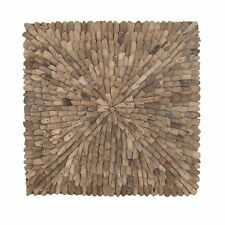 Foundry Select Natural Burst Style Square Driftwood Wall Décor