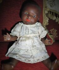 GORGEOUS 11 INCH HEUBACH MOLD 399 BLACK/AFRICAN CHARACTER BABY