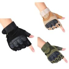 Tactical Military Fingerless Gloves Outdoor Motorcycle Cycling Half Finger Glove