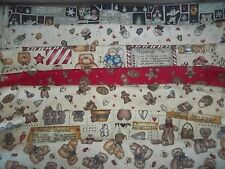 DIANNA MARCUM snowman GINGERBREAD BTY Cotton FABRIC U-Pick SEE LISTING for INFO