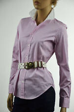 Ralph Lauren Slim Fit Pink & Black Stripe Blouse - NWT- Retail $145