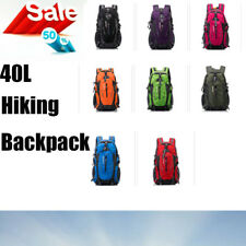 40L Hiking Backpack Waterproof Daypack Outdoor Camping Hiking Travel Multicolour