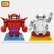 2 Set Baymax Robot Armor Mini Figures LOZ Diamond Nano Blocks Building Toys Gift