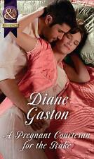 Pregnant Courtesan for the Rake by Diane Gaston Paperback Book Free Shipping!