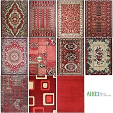 Small X Large Red Shaggy Modern Traditional Soft Area Rugs Mat Cheap Carpet Rug