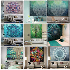Indian Retro Mandala Tapestry Wall Hanging Hippie Throw Bohemian Dorm Bedspread