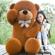 Giant Teddy Bear Plush Toy 200cm Life Size Stuffed Toy Soft Doll for Adults Kids