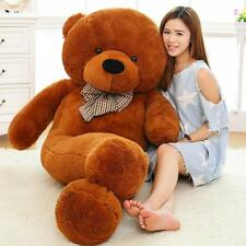 Giant Teddy Bear Plush Stuffed Toy Soft Life Size 180cm Animal Doll Toy for Kids