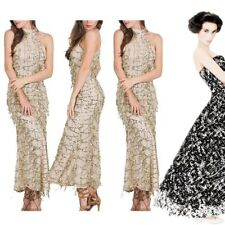 Sexy Women Halter Sleeveless Sequin Bling Bodycon Long Dress Party Gown Clubwear