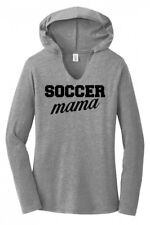 Soccer Mama Ladies Hoodie T-Shirt Cute Mothers Day Gift Soccer Mom Tee Shirt