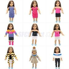 Fashion Dolls Dresses Outfit Clothes for 18'' American Girl Our Gneration Doll