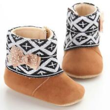 Baby Toddler Infant Girl Snow Boots Shoes Kids Soft Sole prewalker Crib Shoes