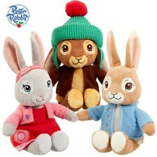 PETER RABBIT CHARACTERS CUDDLY SOFT ANIMAL PLUSH TOY 18cm **FREE DELIVERY**